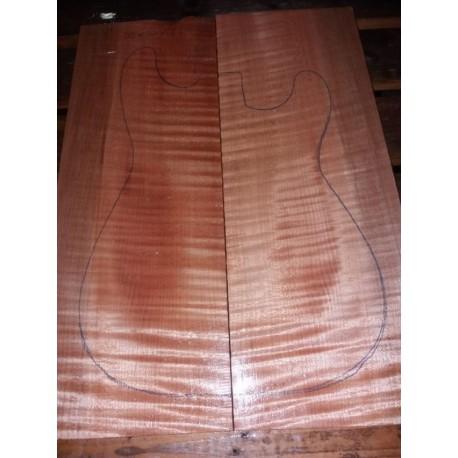 Soft Maple Carved Top Marezzato