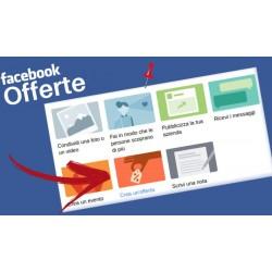 Offerta prodotto Facebook