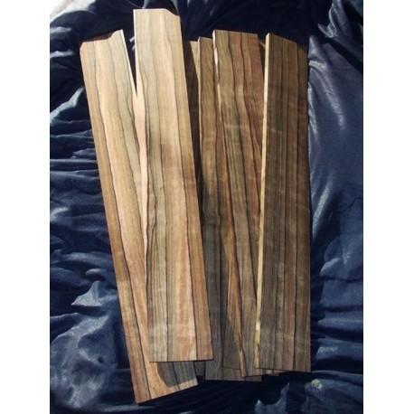 Tastiera in Malaysian Blackwood
